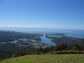Laurieton, NSW from North Brother Lookout.jpg