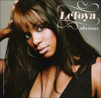 Obvious (LeToya song) - Image: Le Toya Obvious (single cover)