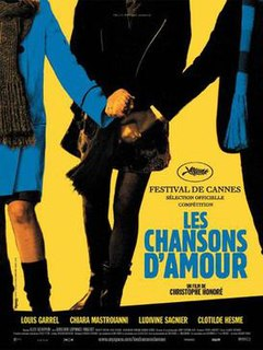 2007 French musical film by Christophe Honoré