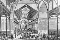 Les Halles market.