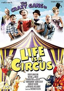 <i>Life Is a Circus</i> (1960 film) 1960 film by Val Guest
