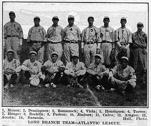 Long Branch Cubans - The 1914 Long Branch Cubans