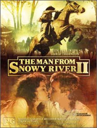 The Man from Snowy River II - Australian DVD cover