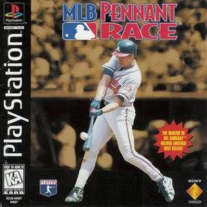 MLB Pennant Race - Image: MLB Pennant Race Play Station