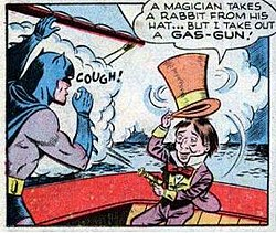 Jervis Tetch/The Mad Hatter in his first appearance in Batman #49 (1948).