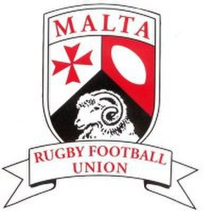 Rugby union in Malta - Image: Malta Rugby Football Union Logo
