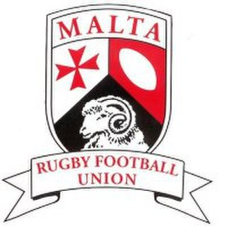 Malta Rugby Football Union - Image: Malta Rugby Football Union Logo