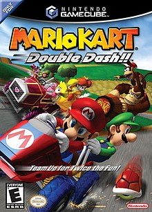mario kart double dash gamecube disc