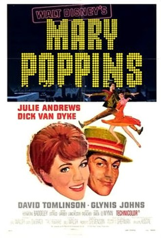 Mary Poppins (film) - Theatrical release poster