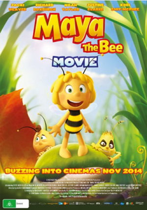 Maya the Bee (2014 film) - Theatrical release poster
