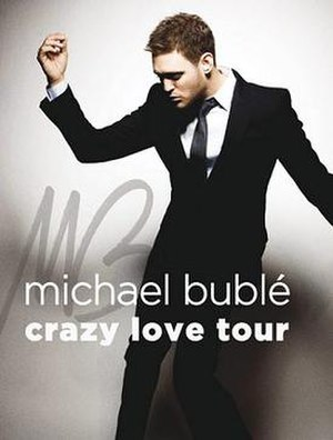 Crazy Love Tour - Image: Mb cltposter