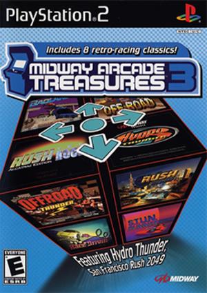 Midway Arcade Treasures 3 - Image: Midway Arcade Treasures 3 Coverart