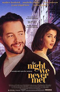 <i>The Night We Never Met</i> 1992 film by Warren Leight