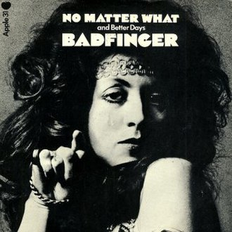 No Matter What (Badfinger song) - Image: No Matter What (Badfinger single cover art)