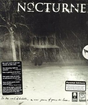 Nocturne (video game) - Image: Nocturnegamecover