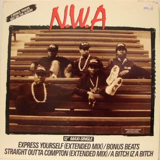 Express Yourself (N.W.A song) - Image: Nwaexpressyourself