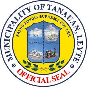 Tanauan, Leyte - Image: Official Seal of Tanauan, Leyte