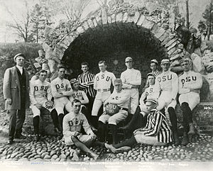 History of Ohio State Buckeyes football - The first Ohio State University football team in 1890