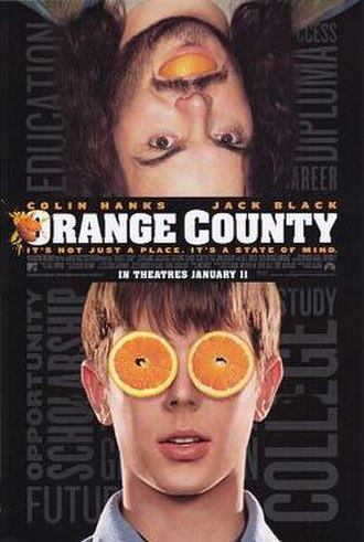 Orange County (film) - Theatrical release poster