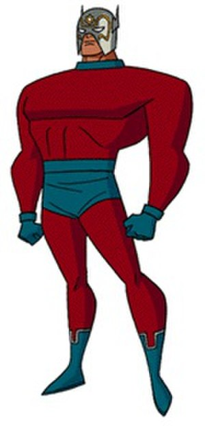 Orion (comics) - Orion as depicted in Superman: The Animated Series.