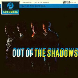 Out of the Shadows (The Shadows album) - Image: Out of the Shadows