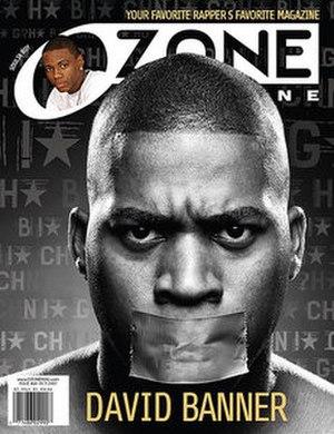 Ozone (magazine) - Cover of Ozone