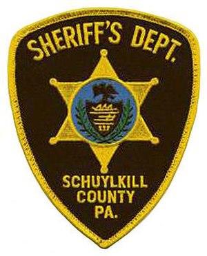 Schuylkill County, Pennsylvania - Image: PA Schuylkill County Sheriff