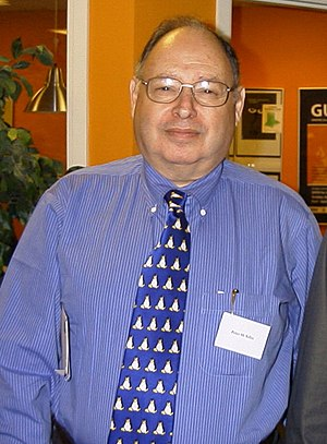 Peter H. Salus - Peter Salus at the 1,000,000,000-second UNIX time event, in Copenhagen on 9 September 2001.