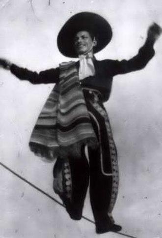 Carpa García - Pilár García on the high wire