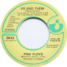 Pink Floyd - Us And Them (label).png