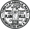 Official seal of Plainville, Massachusetts