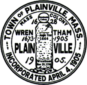Plainville, Massachusetts - Image: Plainville MA seal