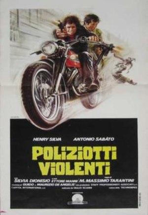 Crimebusters (film) - Image: Poliziotti violenti