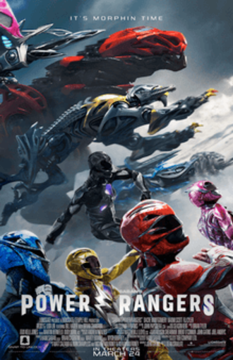 Power Rangers (film) - Theatrical release poster