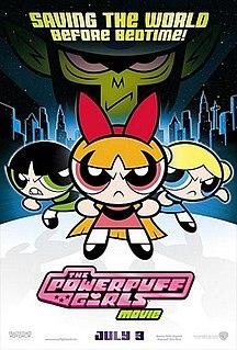 <i>The Powerpuff Girls Movie</i> 2002 film by Craig McCracken