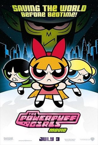 The Powerpuff Girls Movie - Theatrical release poster