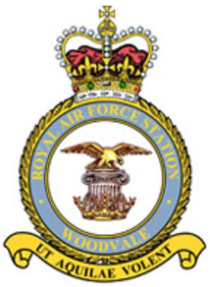 RAF Woodvale - Image: RAF Woodvale crest