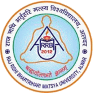 Raj Rishi Bhartrihari Matsya University - Image: Raj Rishi Bhartrihari Matsya University logo