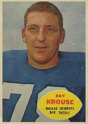 Ray Krouse - Ray Krouse 1960 Topps trading card