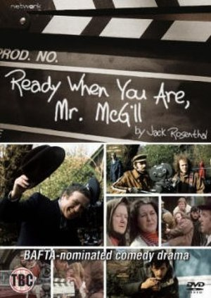 Ready When You Are, Mr. McGill - DVD cover of the 1976 version