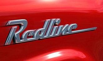 Redline (video game) - Image: Redline Logo