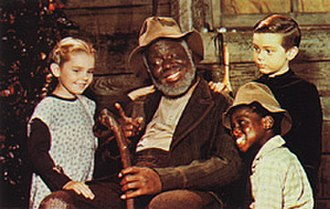 Song of the South - Clockwise from left: Ginny (Luana Patten), Uncle Remus (James Baskett), Johnny (Bobby Driscoll) and Toby (Glenn Leedy)
