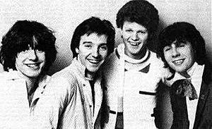 Rich Kids - L-R; Steve New, Midge Ure, Rusty Egan, Glen Matlock