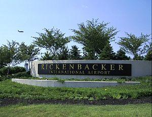 Rickenbacker International Airport - Image: Rickenbacker Enter
