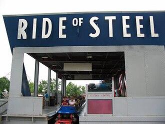 Superman – Ride of Steel - Image: Ride of Steel