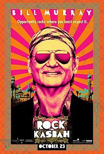 <i>Rock the Kasbah</i> (film) 2015 film directed by Barry Levinson