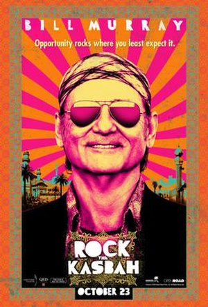 Rock the Kasbah (film) - Theatrical release poster