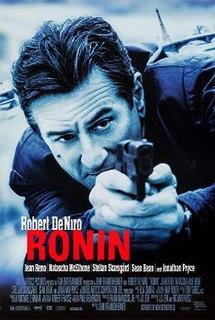 <i>Ronin</i> (film) 1998 film by John Frankenheimer