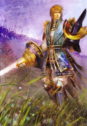 Azai Nagamasa - Azai Nagamasa as he appears in Koei's Samurai Warriors 2.