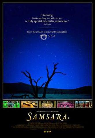 Samsara (2011 film) - Image: Samsara Film Poster
